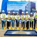FILINVEST AT NEW CLARK CITY. Earlier, Filinvest, BCDA and guests held the groundbreaking ceremony for #Ecotechture