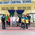 School buildings inspection done in Capas East Central School,in compliance to Division Memorandum No.2016