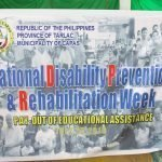 PWD EDUCATIONAL ASSISTANCE JULY 25, 2019