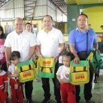 Distribution of Bags for Day Care of O'Donnell