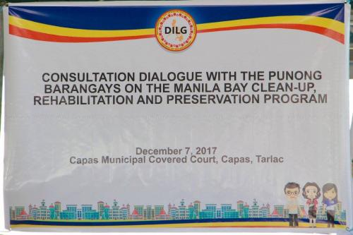 Consultation Dialogue with Punong Barangay - December 7, 2017